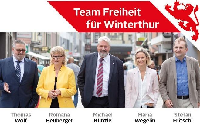 Wahlkampfauftakt «Team Freiheit»